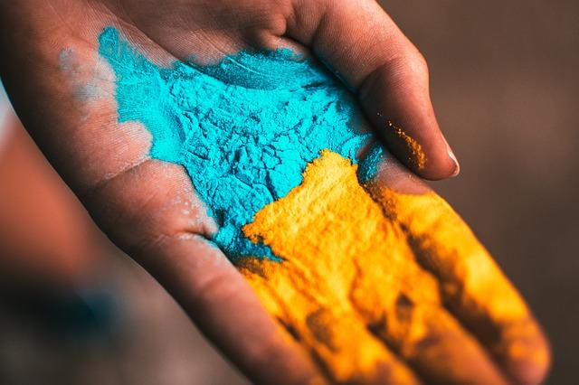 Add colours to your portfolio.